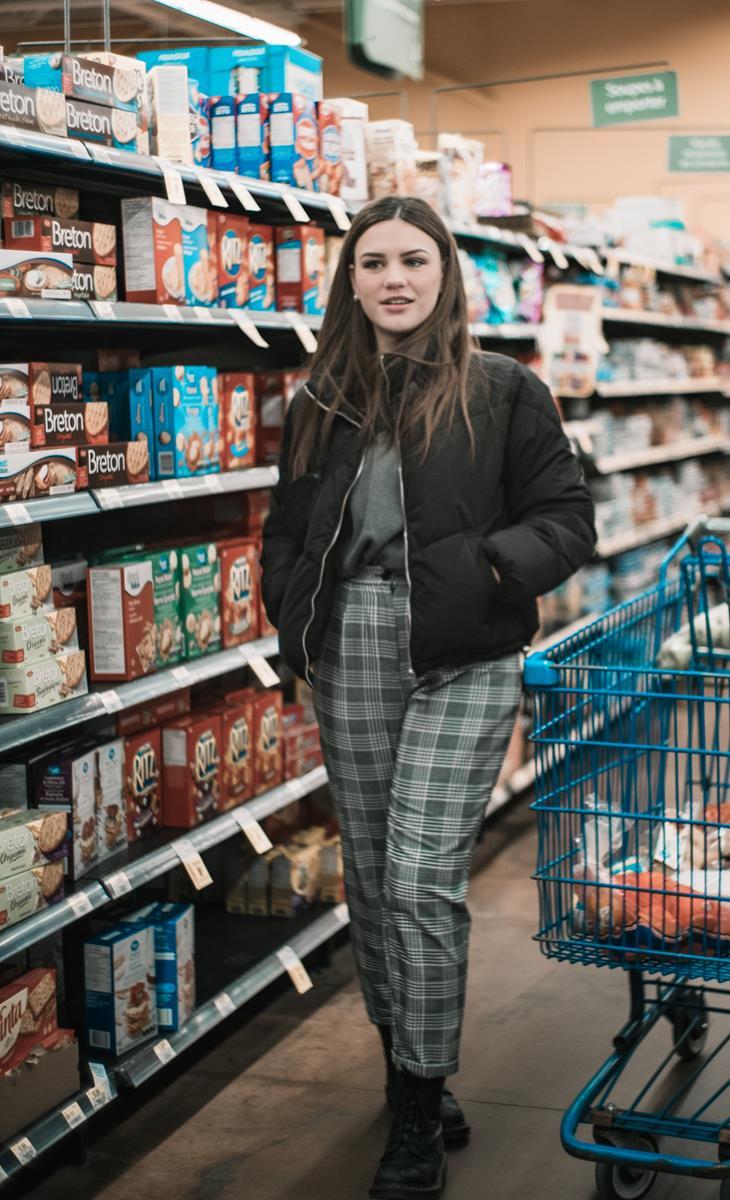 Zakupy produktów spożywczych