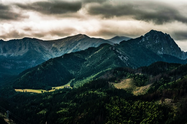 Odpoczynek w górach w okolicach Zakopanego